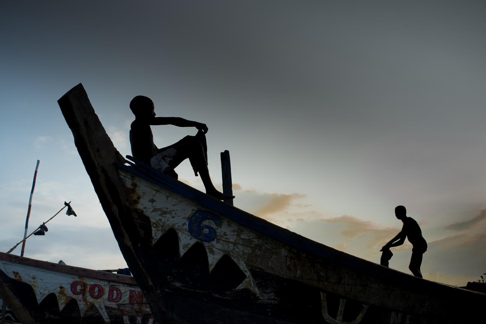 Photographie - Ghanna-bateau